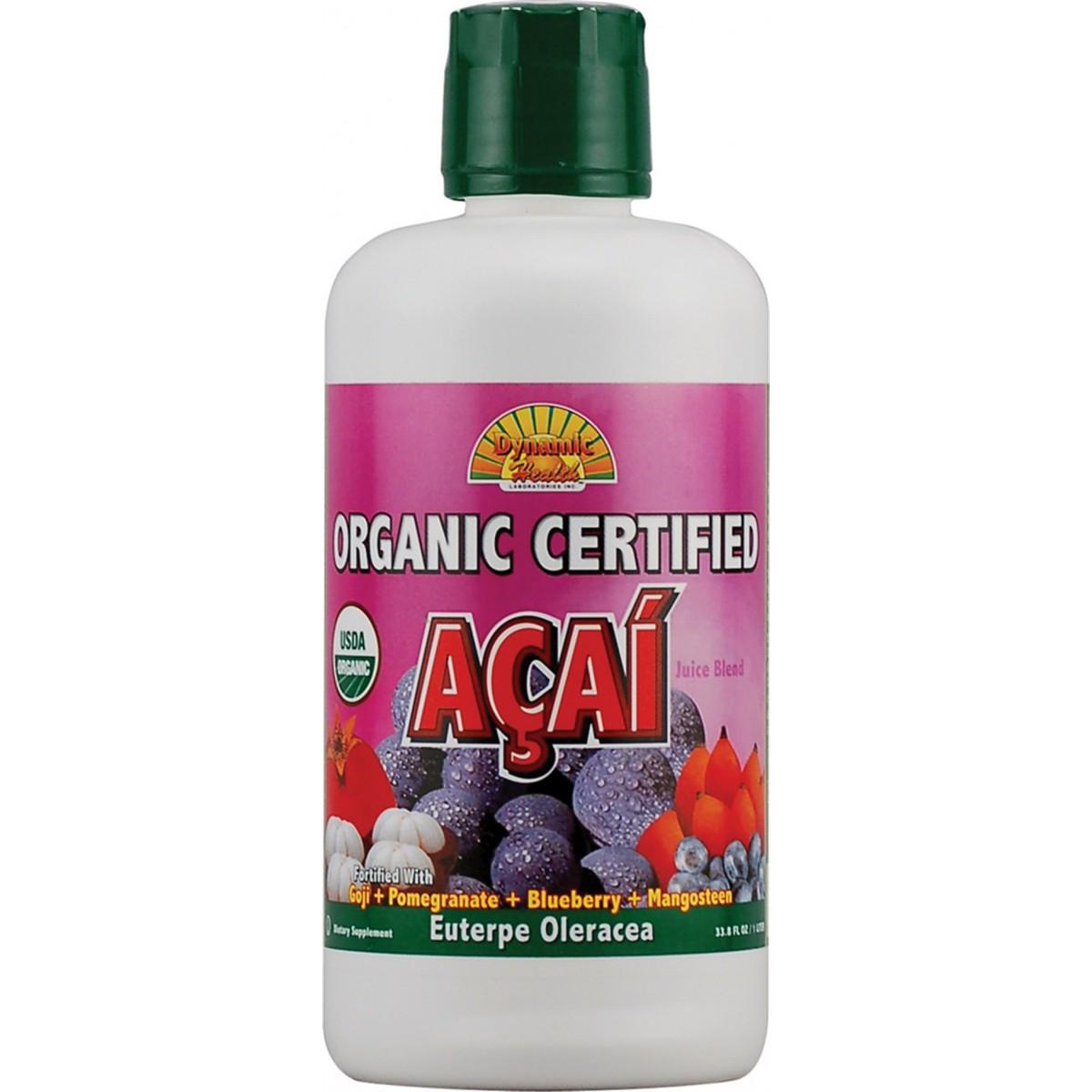 Acai blend juice