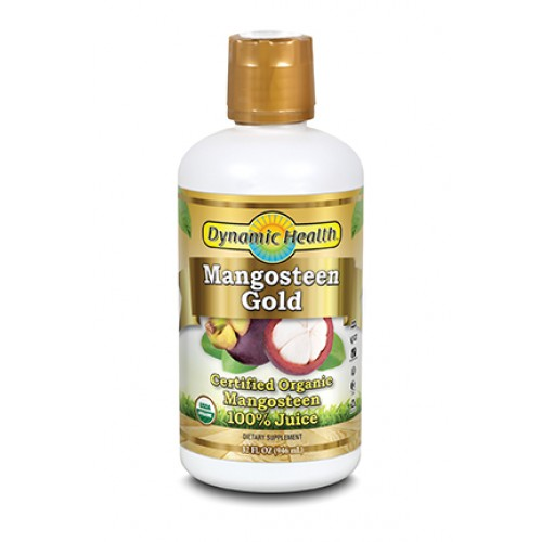 Mangosteen Gold 100 % Pure Organic Mangosteen Juice 946ml