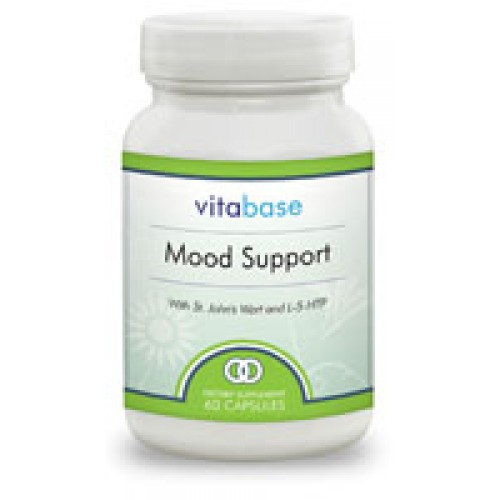 Vitabase Mood Support - with St Johns Wort - 60 Capsules