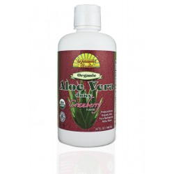 NEW! Organic Aloe Vera Juice with Cranberry 946ml