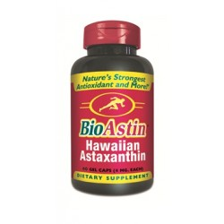 BioAstin Original Astaxanthin Supplement 60 gels