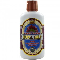 Nopal Gold 100% Organic Nopal from fresh Nopal Cactus 946ml