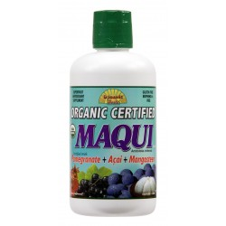Maqui Juice Organic Blend 946ml with Acai, Pomegranate and Mangosteen