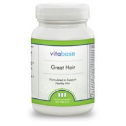 Great Hair - Vitamins to nourish mens hair and prevent hair loss